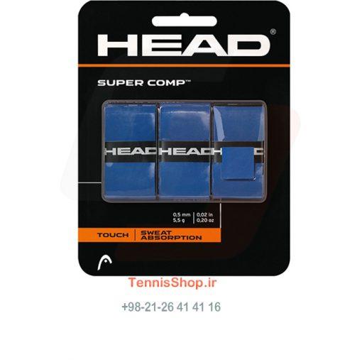 اورگریپ راکت تنیس هد سری Super Comp مدل 3 عددی رنگ آبی