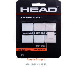 سه تایی راکت تنیس مدل Xtreme Soft برند Head رنگ سفید 300x300 - اورگریپ سه تایی راکت تنیس مدل Xtreme Soft برند Head رنگ سفید