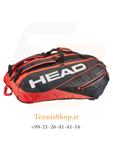 ساک تنیس هد سری Tour Team Monstercombi مدل 12 راکته رنگ قرمز مشکی