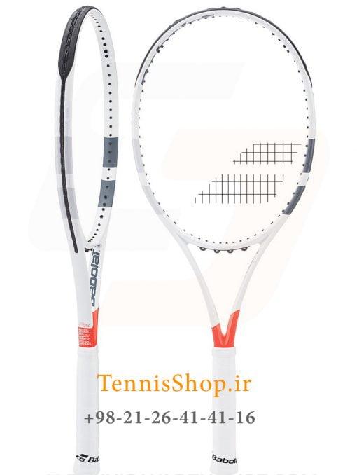 """تنیس بابولات سری Pure Strike مدل 100 7 <p style=""""text-align: justify;""""><span style=""""color: #000000;""""><span style=""""color: #ff6600;""""><strong><a style=""""color: #ff6600;"""" href=""""https://tennisshop.ir/product-category/%D8%AE%D8%B1%DB%8C%D8%AF-%D8%B1%D8%A7%DA%A9%D8%AA-%D8%AA%D9%86%DB%8C%D8%B3/%D8%B1%D8%A7%DA%A9%D8%AA-%D8%AA%D9%86%DB%8C%D8%B3-%D8%A8%D8%B1%D9%86%D8%AF/%D8%AE%D8%B1%DB%8C%D8%AF-%D8%B1%D8%A7%DA%A9%D8%AA-%D8%AA%D9%86%DB%8C%D8%B3-%D9%88%DB%8C%D9%84%D8%B3%D9%88%D9%86/"""" target=""""_blank"""" rel=""""noopener noreferrer"""">راکت تنیس بابولات</a></strong> <strong><a style=""""color: #ff6600;"""" href=""""https://tennisshop.ir/series/%D8%A8%D8%A7%D8%A8%D9%88%D9%84%D8%A7%D8%AA-pure-strike/"""" target=""""_blank"""" rel=""""noopener noreferrer"""">سری Pure Strike</a></strong></span> مدل 100 با وزن 300 گرم ترکیب انکار ناپذیری از هماهنگی میان اسپین و کنترل است و به شما حس در دست گرفتن یک راکت همه فن حریف را میدهد. ساختار هیبرید این فریم که از ریز بافت های مربع و بیضی تشکیل شده در کنار <span style=""""color: #0000ff;""""><strong><a style=""""color: #0000ff;"""" href=""""https://mag.tennisshop.ir/%D8%AA%DA%A9%D9%86%D9%88%D9%84%D9%88%DA%98%DB%8C-%D8%A7%D9%81-%D8%A7%D8%B3-%D8%A2%DB%8C-%D8%A7%D8%B3%D9%BE%DB%8C%D9%86-fsi-spin-%D8%AF%D8%B1-%D8%B1%D8%A7%DA%A9%D8%AA-%D9%87%D8%A7%DB%8C-%D8%AA/"""" target=""""_blank"""" rel=""""noopener noreferrer"""">تکنولوژی FSI</a></strong></span> به این راکت قدرت و سرعت فوق العاده ای افزوده است. وزن ایده آل این راکت برای گستره بزرگی از بازیکنان مناسب است و مشخصات فنی بسیار خوب آن در ارتقاء سطح تنیس بازیکنان مستعد گزینه خوبی محسوب میشود.</span></p> <p style=""""text-align: justify;""""><span style=""""color: #ff0000;""""><a style=""""color: #ff0000;"""" href=""""https://tennisshop.ir/product-category/%D8%AE%D8%B1%DB%8C%D8%AF-%D8%B2%D9%87-%D8%B1%D8%A7%DA%A9%D8%AA-%D8%AA%D9%86%DB%8C%D8%B3/"""" target=""""_blank"""" rel=""""noopener noreferrer"""">این راکت حرفه ای مانند سایر راکت های حرفه ای دیگر<strong>فاقد زه کشی</strong> می باشد و شما میتوانید زه انتخابی خود را با <strong>کلیک بر روی این متن</strong>انتخاب کنید و یا با مشاورین تنیس شاپ برای انتخاب"""