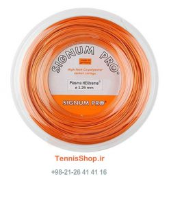راکت تنیس Signum Pro Plasma Hextreme Reel min 1 247x296 - زه رول تنیس سیگنوم پرو سری Plasma Hextreme Reel مدل 1.30 رنگ نارنجی