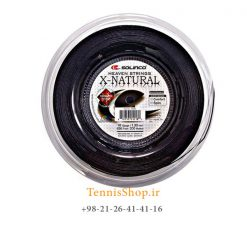 زه رول تنیس سولینکو سری X Natural مدل 1.30 رنگ مشکی