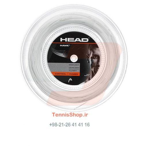 زه رول تنیس هد سری Hawk مدل 1.25 رنگ سفید