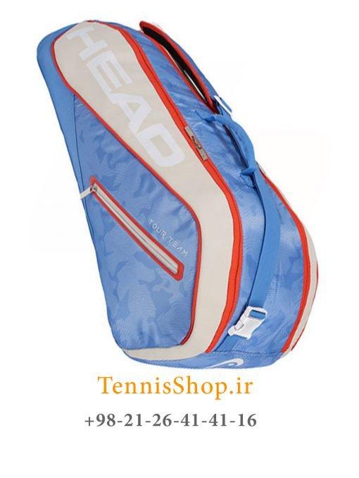 ساک تنیس هد سری Tour Team مدل 6 راکته رنگ آبی