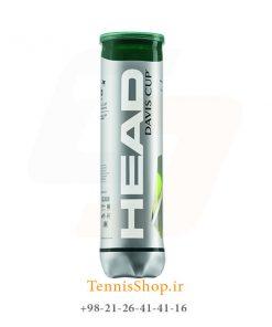 چهارتایی تایی توپ تنیس مدل Head برند Davis Cup 247x296 - قوطی چهارتایی توپ تنیس مدل Head برند Davis Cup