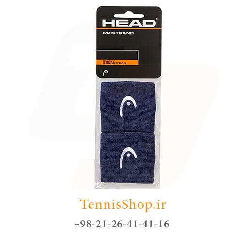 مچ بند تنیس هد سری 2.5 اینچ مدل 2 عددی رنگ سرمه ای