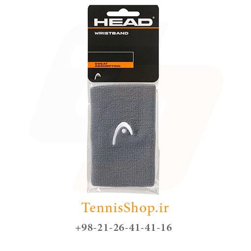 مچ بند تنیس هد سری 5 اینچ مدل 2 عددی رنگ خاکستری