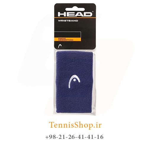 مچ بند تنیس هد سری 5 اینچ مدل 2 عددی رنگ سرمه ای