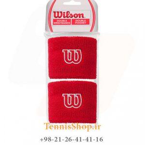 بند تنیس Wilson W Wristband RD 1 300x300 - مچ بند تنیس  Wilson W Wristband RD