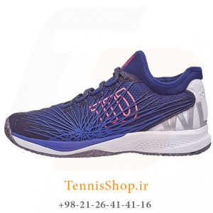 تنیس مردانه برند Wilson مدل KAOS 2.0 رنگ آبی سفید 1 300x300 - کفش تنیس مردانه برند Wilson مدل KAOS 2.0 رنگ آبی سفید