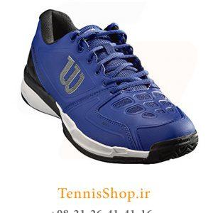 تنیس مردانه برند Wilson مدل RUSH COMP رنگ آبی 2 300x300 - کفش تنیس مردانه Wilson سری RUSH مدل COMP رنگ آبی سفید