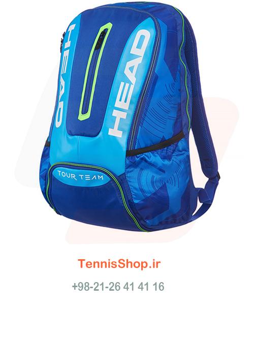 کوله پشتی تنیس Head Tour Team Backpack BL