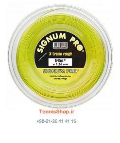 00 14X 247x296 - زه رول تنیس سیگنوم پرو سری Triton Reel مدل 1.24 رنگ زرد
