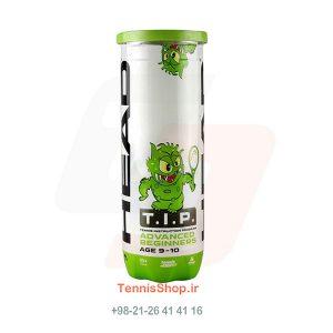 قوطی سه تایی توپ تنیس سبز برند HEAD مدلTIP