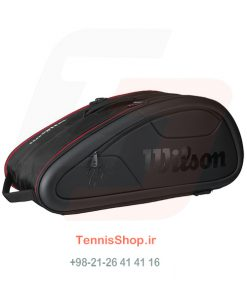 1 151 247x296 - ساک تنیس Wilson سری Federer Dna مدل 12 راکته رنگ مشکی