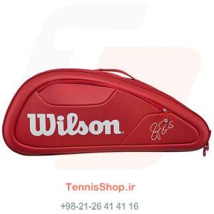 2 118 300x300 - ساک تنیس 12 راکته Wilson Federer DNA RED