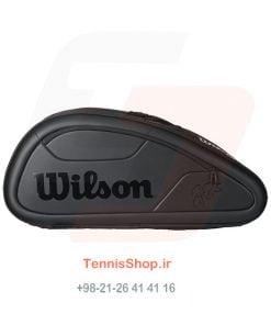 2 121 247x296 - ساک تنیس Wilson سری Federer Dna مدل 12 راکته رنگ مشکی