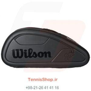 2 121 300x300 - ساک تنیس Wilson سری Federer Dna مدل 12 راکته رنگ مشکی