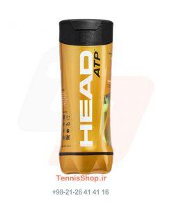 قوطی سه تایی توپ تنیس برند Head مدل ATP