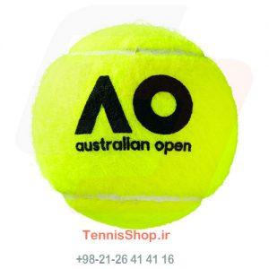 قوطی سه تایی توپ تنیس برند Wilson مدل Australia Open