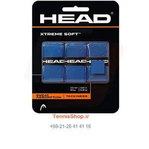 3 133X 300x300 - اورگریپ سه تایی راکت تنیس Xtreme Soft برند Head رنگ آبی