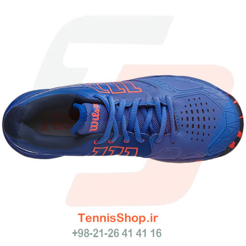 کفش تنیس Wilson Kaos Comp Blue Orange Women