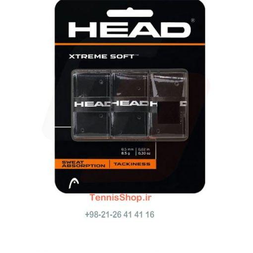 اورگریپ سه تایی مشکی برند Head مدل XtremeSoft