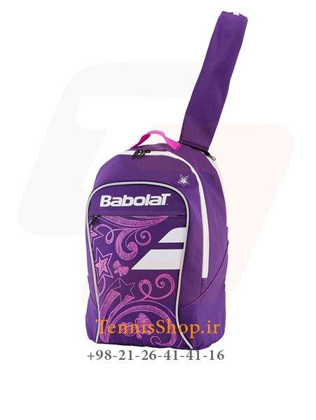 کوله پشتی تنیس بچه گانه بنفش برند Babolat مدل Junior Club