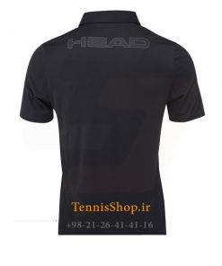 Black Polo shirt 2 247x296 - پولوشرت تنیس Head BASIC Tech Polo Shirt BK