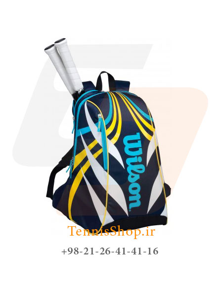 کوله پشتی تنیس Wilson Topspin Backpack Large Bl