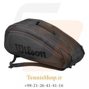 FED TEAM 6 PACK 2 300x300 - ساک تنیس 6 راکته  Wilson FED Team 6 Pack