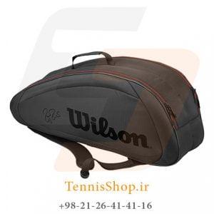 FED TEAM 6 PACK 300x300 - ساک تنیس 6 راکته  Wilson FED Team 6 Pack