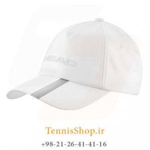 HEAD Perfomance cap WH 300x300 - کلاه تنیس مدل Performance برند Head رنگ سفید نقره ای