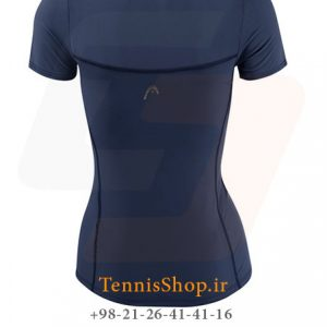 Head Perf W T Shirt NV 2 300x300 - تیشرت تنیس زنانه هد Head Perf W T-Shirt NV