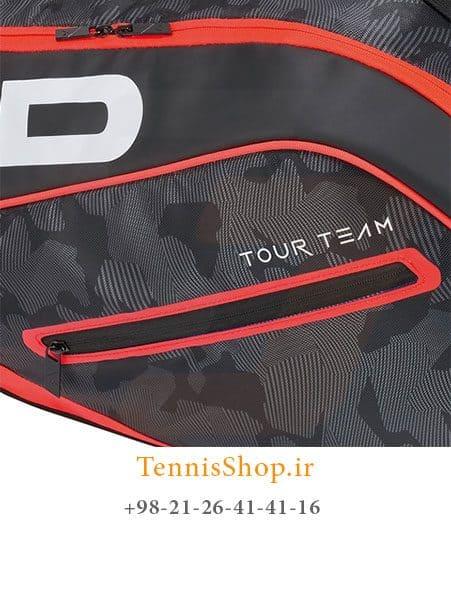 ساک تنیس 6 راکته برند Head مدل Tour Team Combi 2018