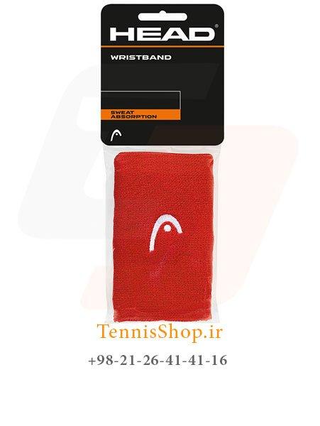 مچ بند تنیس هد سری 5 اینچ مدل 2 عددی رنگ قرمز