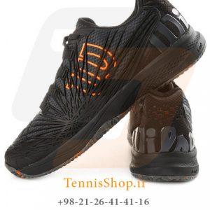 KAOS 2.0 CLAY COURT EBONYBKSHOCKI 1 300x300 - کفش تنیس مردانه Wilson مدل Kaos 2.0 رنگ مشکی
