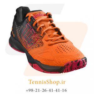 KAOS COMP SHOCKIBKNEON RED 1 300x300 - کفش تنیس مردانه 2018  Wilson Kaos Comp Shocki NEON RED
