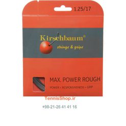 زه تک راکت تنیس برند Kirschbaum مدل Max Power Rough