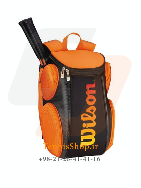 کوله پشتی تنیس Wilson Burn Molded Lg Backpack BKOR