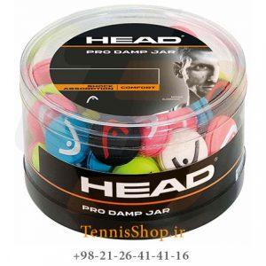 Pro damp jar box 300x300 - ضربه گیر 70 عددی راکت تنیس HEAD Pro Damp Jar