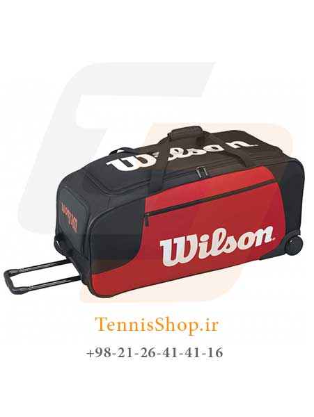 TR 2 1 راکت تنیس Wilson Wheeled Travel Duffel BKRD ساخت شرکت wilson می باشد... برای خواندن ادامه مطلب کلیک کنید.