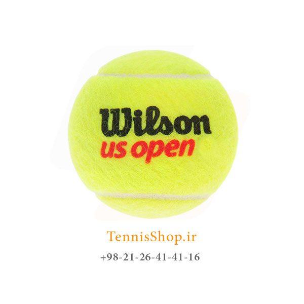 US open tennis ball توپ تنیس 600x600 - 4 قوطی سه تایی توپ تنیس برند Wilson مدل Us Open