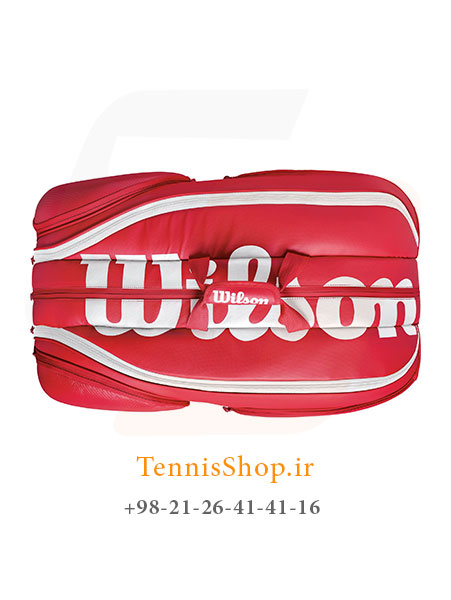 "WILSON VANCOUVER 9 PACK RDWH 4 <p style=""text-align: justify;""><span style=""color: #000000;""><span style=""color: #ff6600;""><strong><a style=""color: #ff6600;"" href=""https://tennisshop.ir/product-category/%D8%AE%D8%B1%DB%8C%D8%AF-%D8%B3%D8%A7%DA%A9-%D8%AA%D9%86%DB%8C%D8%B3/%D8%A8%D8%B1%D9%86%D8%AF-%D9%87%D8%A7%DB%8C-%D8%B3%D8%A7%DA%A9-%D8%AA%D9%86%DB%8C%D8%B3/%D8%B3%D8%A7%DA%A9-%D8%AA%D9%86%DB%8C%D8%B3-%D9%88%DB%8C%D9%84%D8%B3%D9%88%D9%86/"" target=""_blank"" rel=""noopener noreferrer"">ساک تنیس ویلسون</a></strong> <strong><a style=""color: #ff6600;"" href=""https://tennisshop.ir/series/%d9%88%db%8c%d9%84%d8%b3%d9%88%d9%86-vancouver/"" target=""_blank"" rel=""noopener noreferrer"">سری Vancouver</a></strong></span> مدل 9 راکته رنگ قرمز سفید از مدل های بسیار با کیفیت و با بدنه ای مقاوم محسوب می شود ( 58 درصد پلی استر, 42 درصد PU ) ، این ساک دارای فضای بسیار بزرگی برای حمل تمامی ادوات مورد نیاز شما از جمله فضای اختصاصی راکت تنیس و کفش تنیس است.</span></p>"