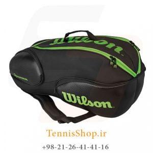 WILSON VANCOUVER 9R PACK BKGR 300x300 - ساک تنیس 9 راکته  Wilson Vancouver