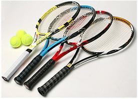 انواع راکت تنیس