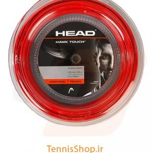 زه رول راکت تنیس قرمز برند Head مدل Hawk Touch