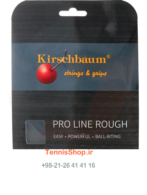 زه راکت تنیس Kirschbaum Pro Line Rough (1.25) Seet