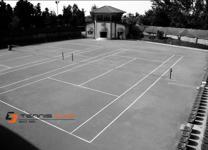 shomal tumb - ساخت زمین تنیس دانشگاه شمال