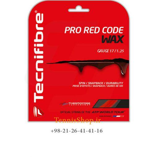 زه تک راکت تنیس برند Tecnifibre مدل Pro Red Code